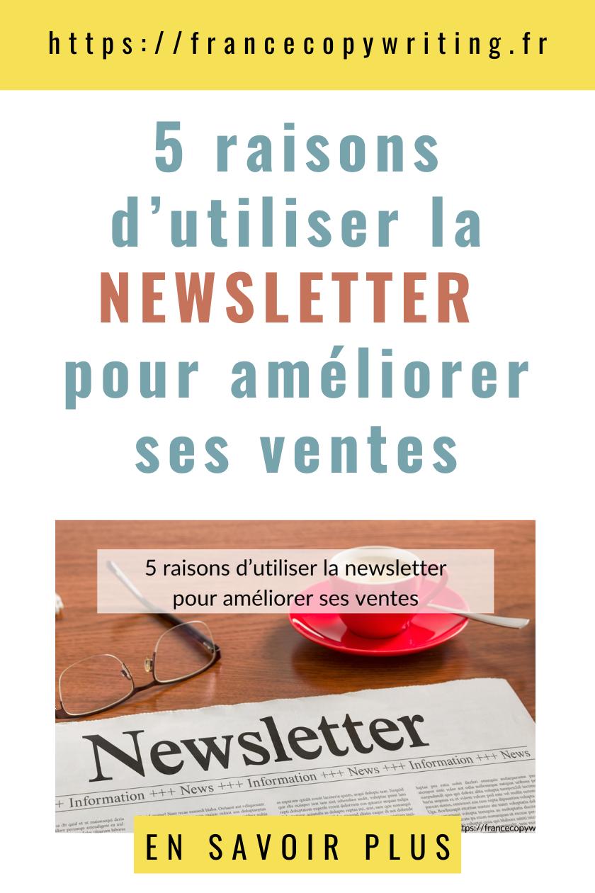 5 raisons dutiliser la newsletter pour améliorer ses ventes